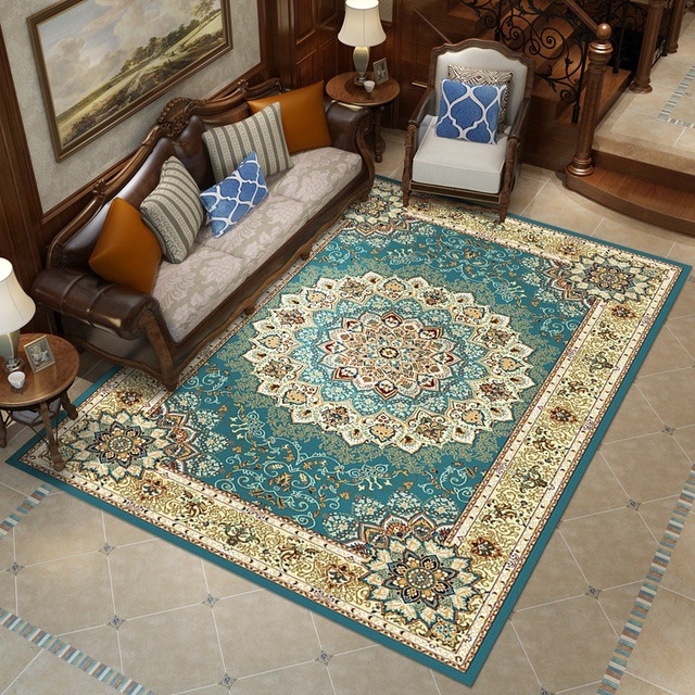 Importado Irã Persa Tapete Decoração de Casa Sofá Tapete Do Quarto Mesa de Café Tapete Tapete Quarto de Estudo Retângulo Tapetes Tatami