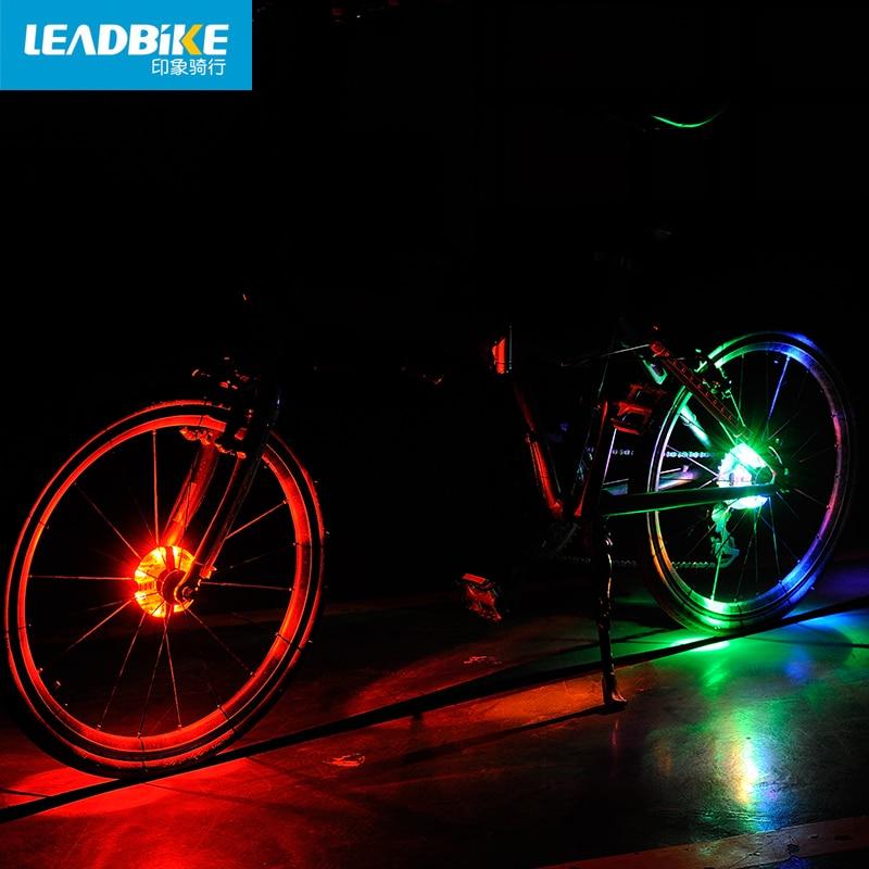 Leadbike Novi bicikl Biciklizam Hubs Svjetlo Bike Prednje / stražnje - Biciklizam - Foto 4