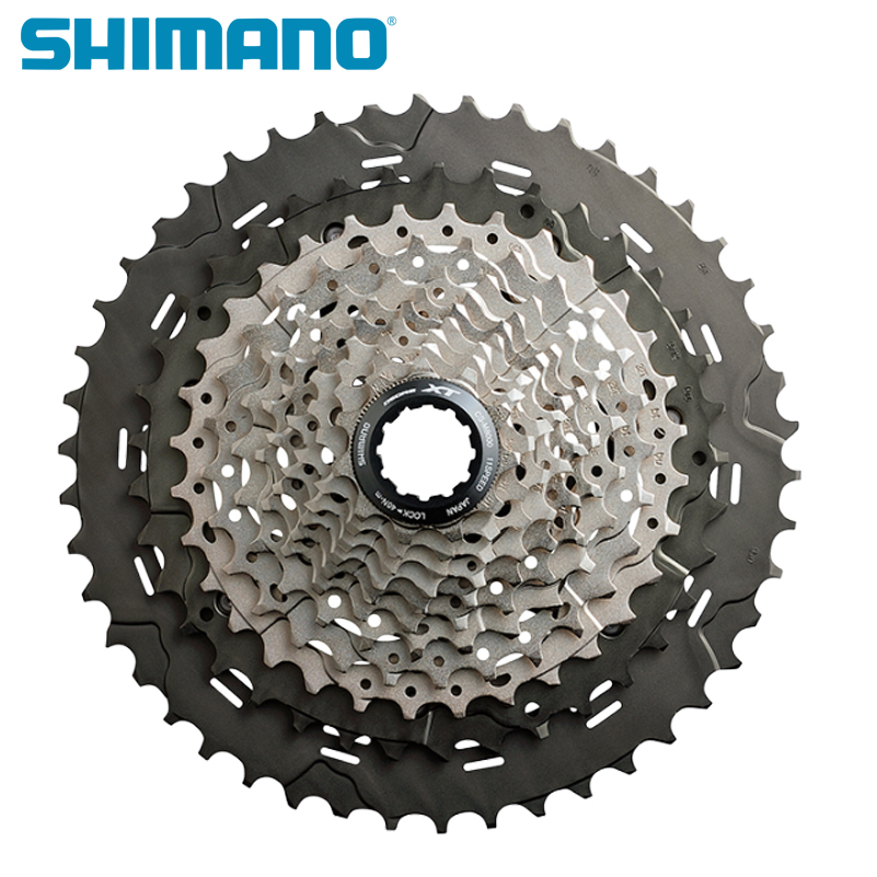 SHIMANO CS M8000 DEORE XT Bicycle Freewheel 11S Speeds 11-40T 11-42T 11-46T Mountain Bike Bicycle MTB Bike Cassette Freewheel цена