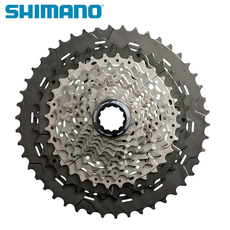 Shimano CS M8000 Deore XT Велосипедные механизмы свободного хода 11 s скорости 11-40 т 11-42 т 11-46 т горный велосипед Велосипедный спорт MTB велосипед кассета