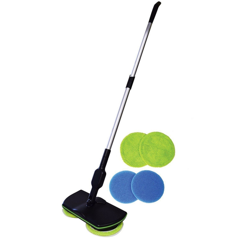 360 Rotating Mop Floor Cleaning Mop Easy Mop Dust Mop Magic Easy Microfiber Electric Broom Spin Maid 2018 New