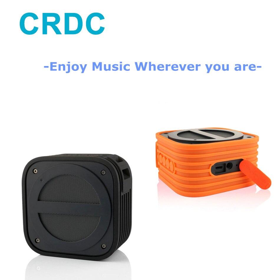 Bluetooth Portable Mini Speaker Handsfree Speakerphone Speaker With Built-In Mic Waterproof Shockproof For Outdoor Shower