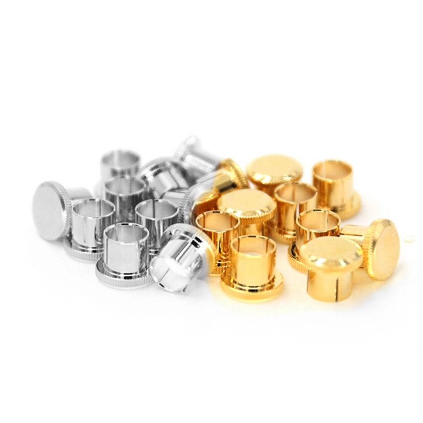 Digital Cables 12pcs X Noise Stopper Gold Plated Copper Cap Dust Protector Rca Plug Caps Strong Packing Accessories & Parts