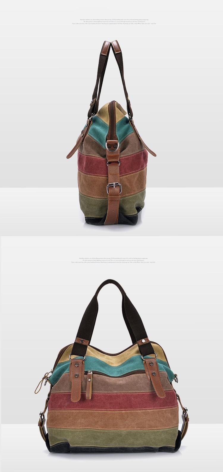 Phedera - Leather Rainbow Purse 10