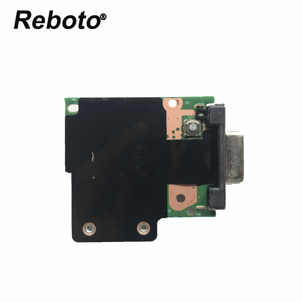 Reboto Original For Lenovo Thinkpad L460 Vga Power Switch Button Board Bl460 Ns-a651 100% Tested Fast Ship Computer & Office