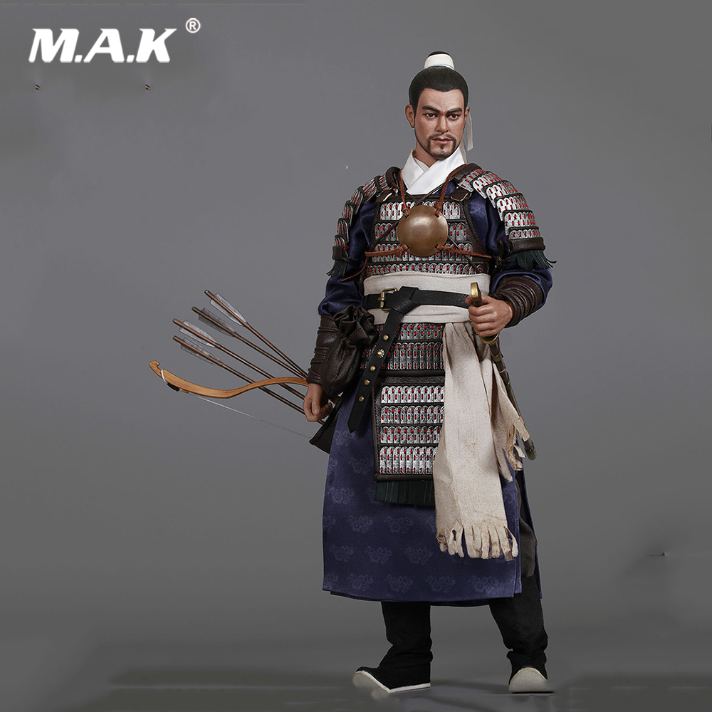 For Collection Full Set KLG R013 1/6th Ming Dynasty Series Qi Troop Walk Camp Guard Leader Action Figure for Collection Gift