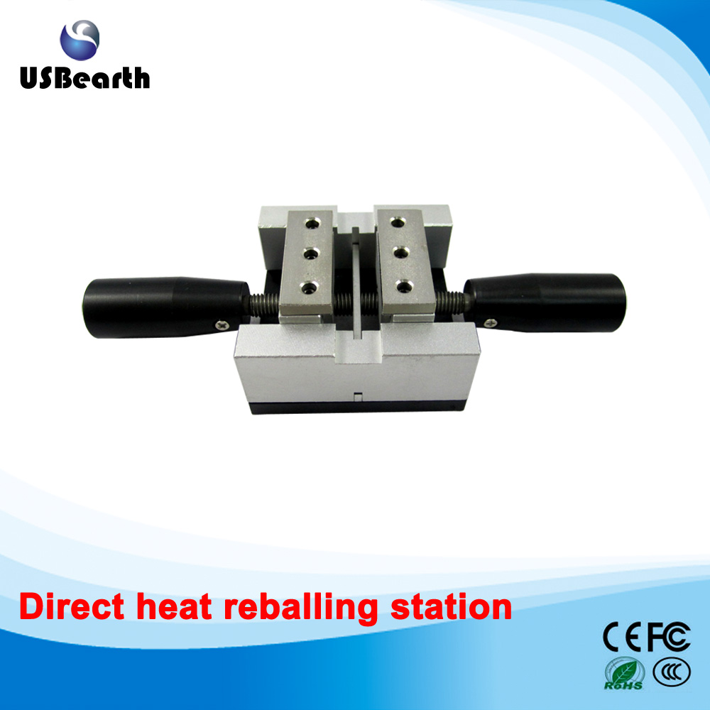 Direct heat reballing station with handle, direct heating BGA stencils holder free shipping direct heat reballing station with handle direct heating bga stencils holder for holding 90mm stencils