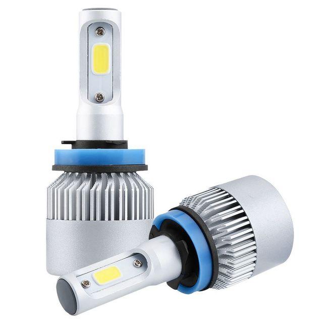 iSincer H4 Car LED Headlight 16000LM 12V Head Lamp H7 LED Light H13 H11 H1 9005 9006 Pure White 6000K for car-styling fog light