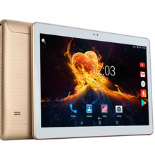 Free shipping Ultra Slim Design 10 inch 3G 4G Lte Tablet PC 8 Cores 4GB RAM 64GB ROM Dual SIM Card Android 7.0 IPS tablet PC 10