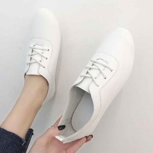 Women's Solid Color Flat Shoes