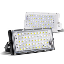 220V IP66 Waterproof 50W  RGB LED Floodlights OutdoorUltra bright LED Flood multicolour Ligh LED Multifunctional Portable  Lamp