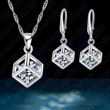 Trendy Design Jewelry Set For Women 925 Sterling Silver Jewelry
