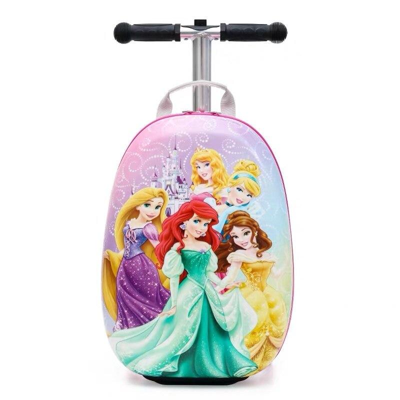 Новый милый детский маленький чемодан для скутера, сумка на колесиках, Детская сумка для переноски, дорожная сумка на колесиках, Детская подарочная коробка - 3