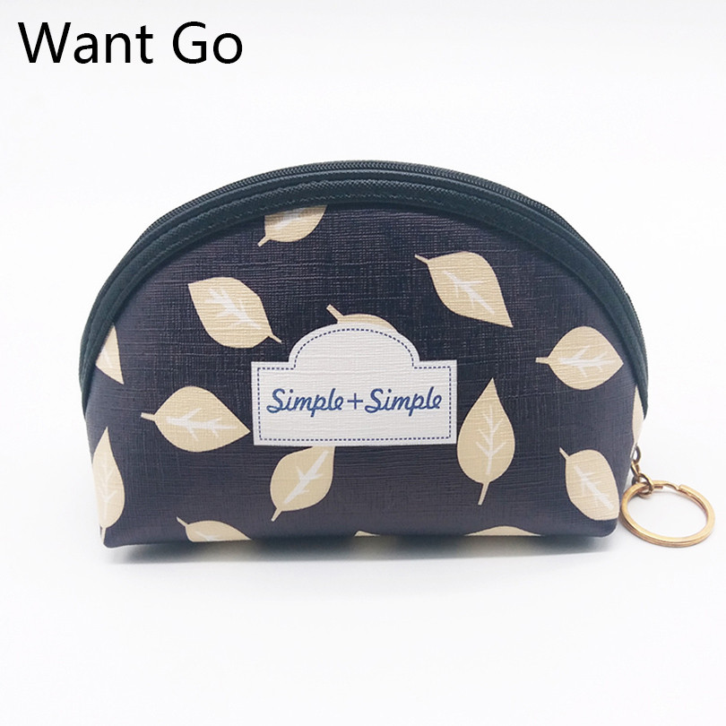 Want Go Classic Pu Women Cosmetic Bags Leather Make Up Organizer Female Vanity Toiletry Bags Necessaire Travel Storage Wash Bag ladsoul 2018 women multifunction makeup organizer bag cosmetic bags large travel storage make up wash lm2136 g
