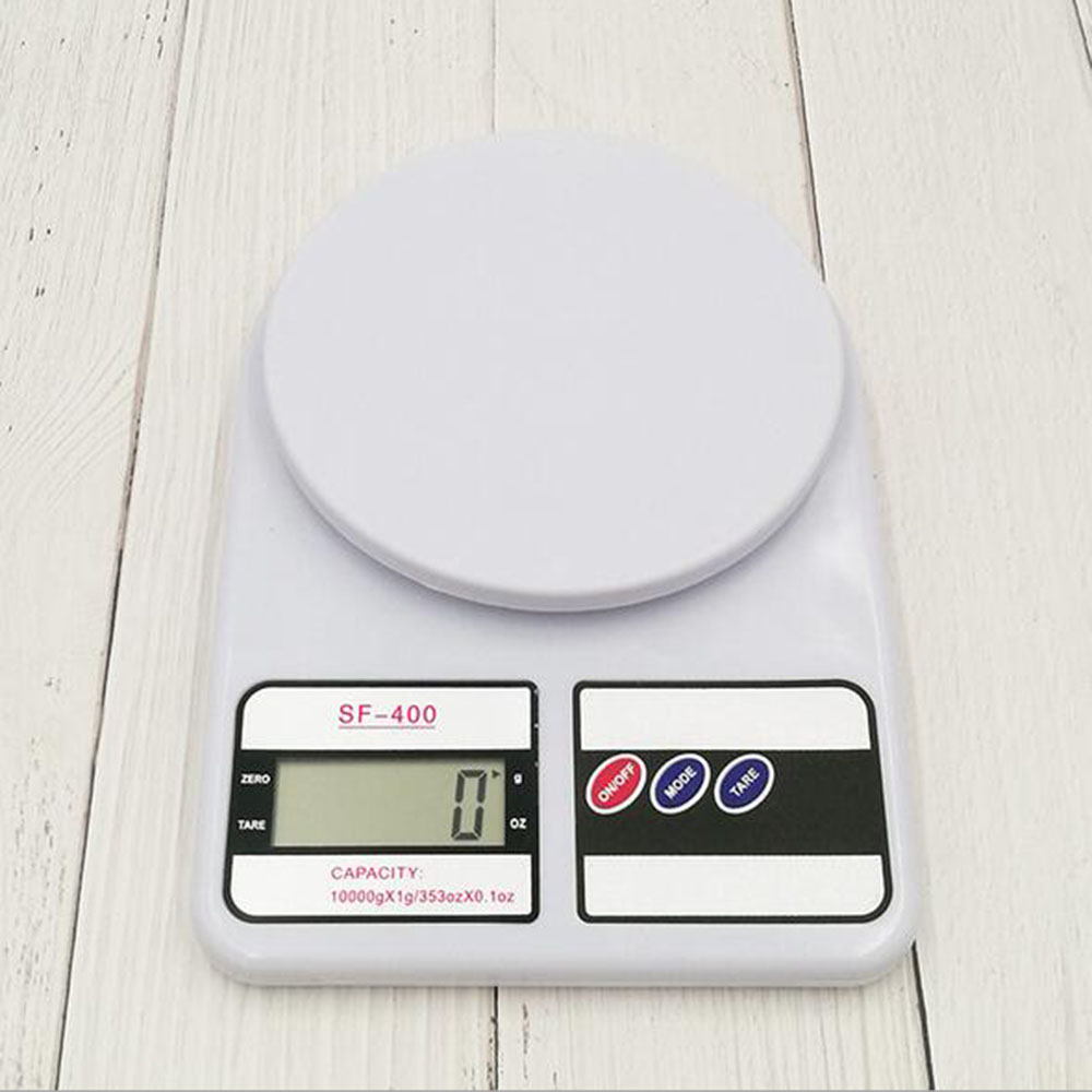 10kg/1g Digital Scale Kitchen Food Diet Postal Scale Electronic Weight Scales Balance Weighting Tool LED Electronic 10360E