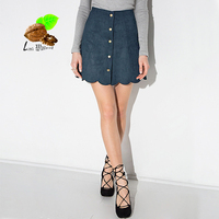 vintage single breasted short skirt hip slim plus size high waist tulle skirt skirts womens step autumn & winter 2017 new