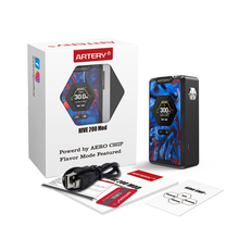 Artery Hive TC Box MOD 200W Output with Flavor Mode Function&AERO Chip&1.3inch TFT Display NO 18650 Battery E-cigarette Vape Mod