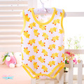 Cotton Baby Clothes Summer Newborn Baby Vest Baby Rompers Sleeveless Sleepping Bag Clothing Jumpsuit Baby Girls Boys Clothes