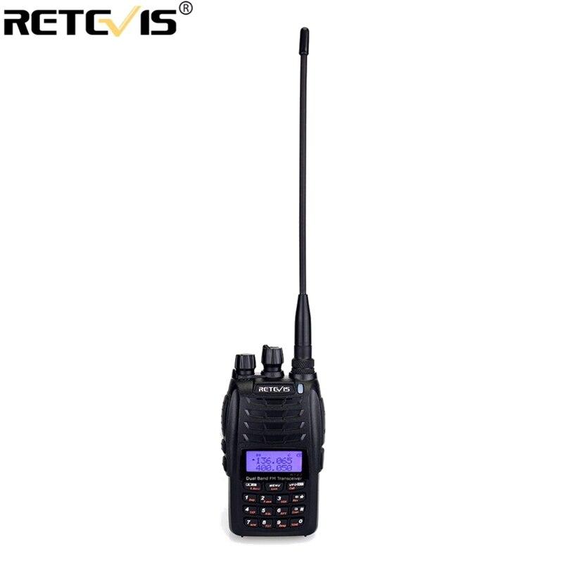 Retevis RT23 Double Réception Talkie Walkie Double PTT 5 w 128CH VHF UHF Double Bande 1750 hz DTMF Scan FM radio Croix-Bande Répéteur