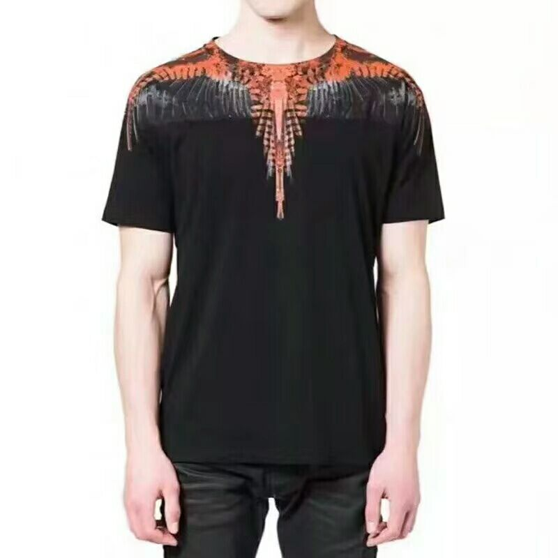 2018 Marcelo Burlon T Shirts Men Women Best version 1:1 Italy County Feather Wings MB T-shirt Marcelo Burlon Tee 10 style S-XL frommer s® italy s best–loved driving tours