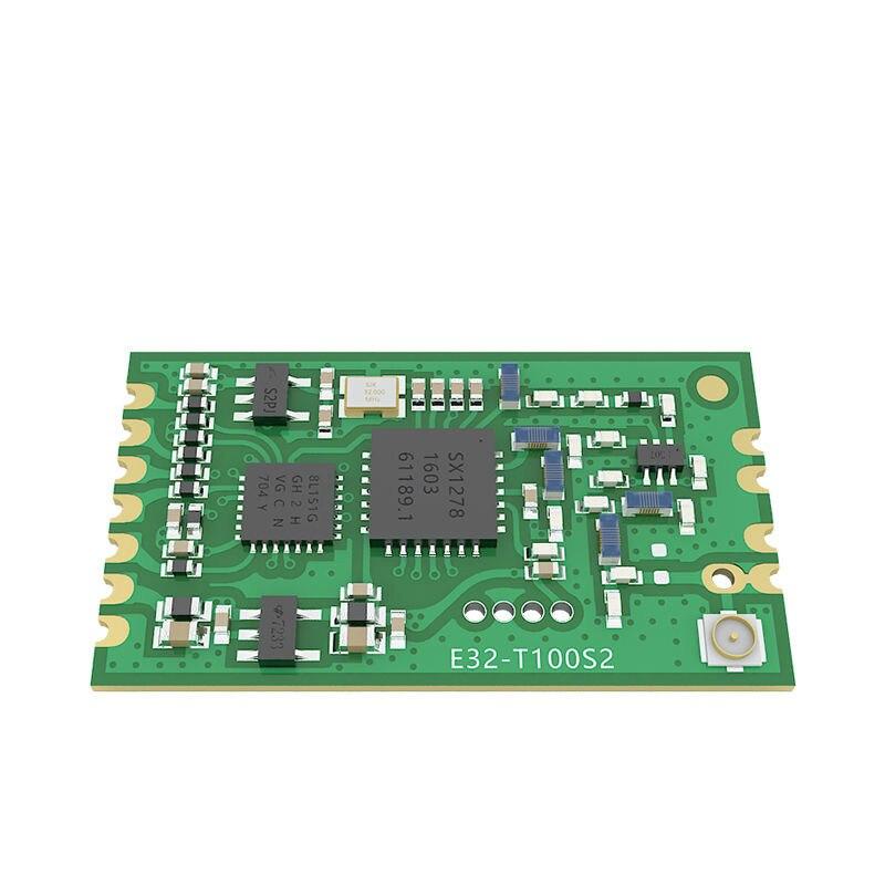 2PCS 3000m 20dBm SMD 433Mhz SX1278 SX1276 LoRa E32-T100S2 100mW rx tx rf transceiver module wireless adaptor lora gapchinskaya 2 декор в екатеринбурге
