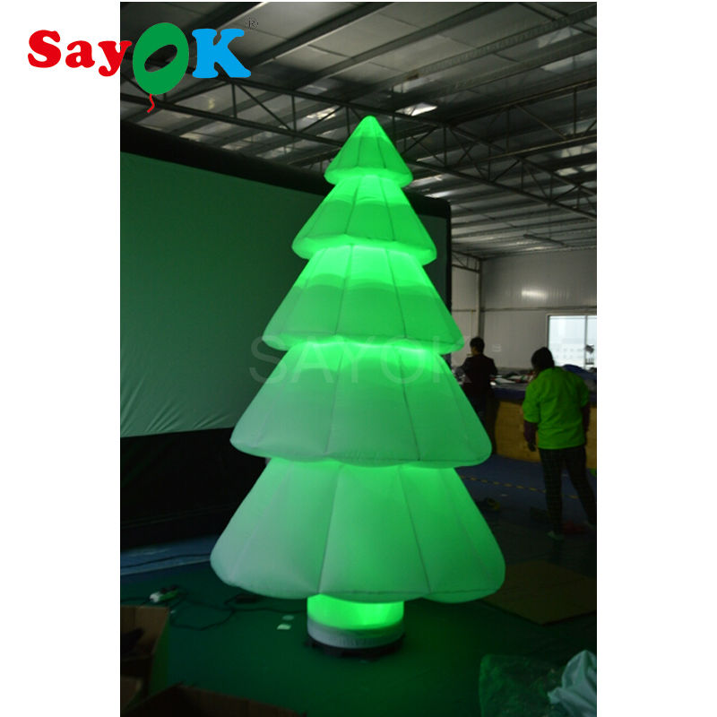 Free shipping inflatable cartoons Christmas tree balloons merry Christmas decoration balls giant outdoor For Shopping Mall/hotel