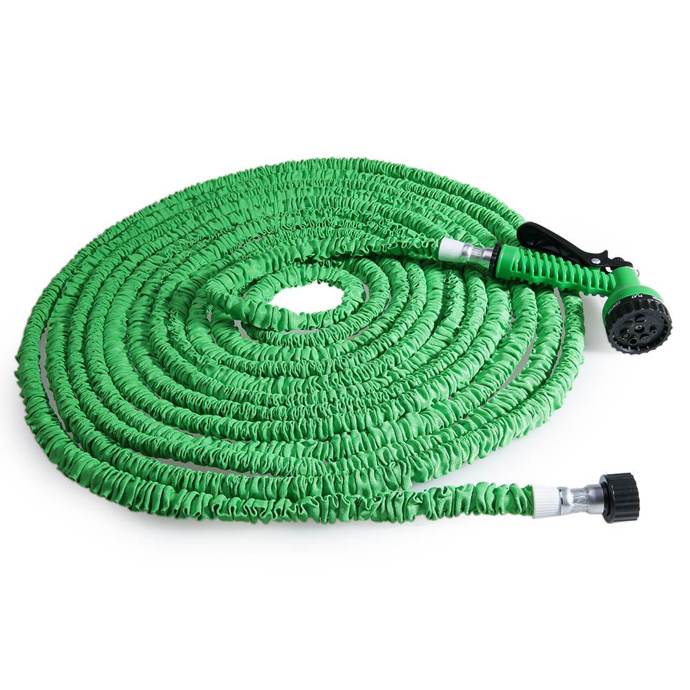 popular 25ft 200ft expandable magic flexible garden water hose reels car yard hose pipe plastic hoses outdoor watering spray gun in garden hoses reels - Flexible Garden Hose