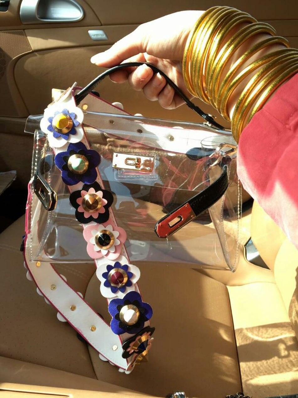Mulheres Designer Bolsas Bolsa Transparente Sacos Saco