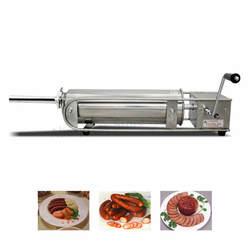 Коммерческий 5L ручной мясо колбаса машина Горизонтальная колбаса писака Мясник магазины нержавеющая сталь Испания Чурро машина