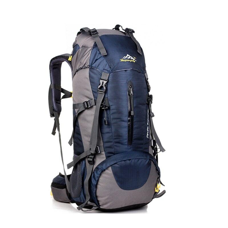 Sac à dos imperméable de randonnée de voyage sac de sport 50L pour les femmes hommes sac d'escalade de Camping en plein air sac à dos d'alpinisme