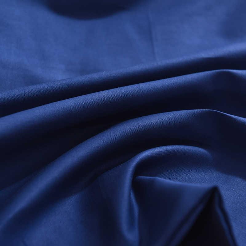 2019 100% Cotone di Colore Solido Letto Copertura del Cuscino 48*74 centimetri Rettangolare di Colore Rosa/Blu/Grigio Federa Sacco A Pelo biancheria da letto Coperture per Cuscini