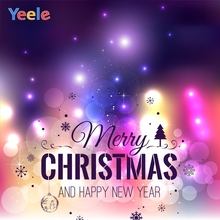 Yeele Christmas Photocall Bokeh Light Glitter Party Photography Backdrops Personalized Photographic Backgrounds For Photo Studio yeele christmas photocall bokeh lights glitter pine photography backdrops personalized photographic backgrounds for photo studio