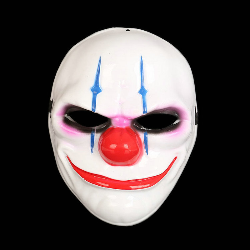 Hot Sale Creative Payday Mask Horror Halloween Joke Mask Party