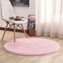 16 Colors Home Beige Carpets Round Thicken Soft Rugs For living Room Kilim Aera Rugs Kids Bedroom Yoga Mats Floor Doormats