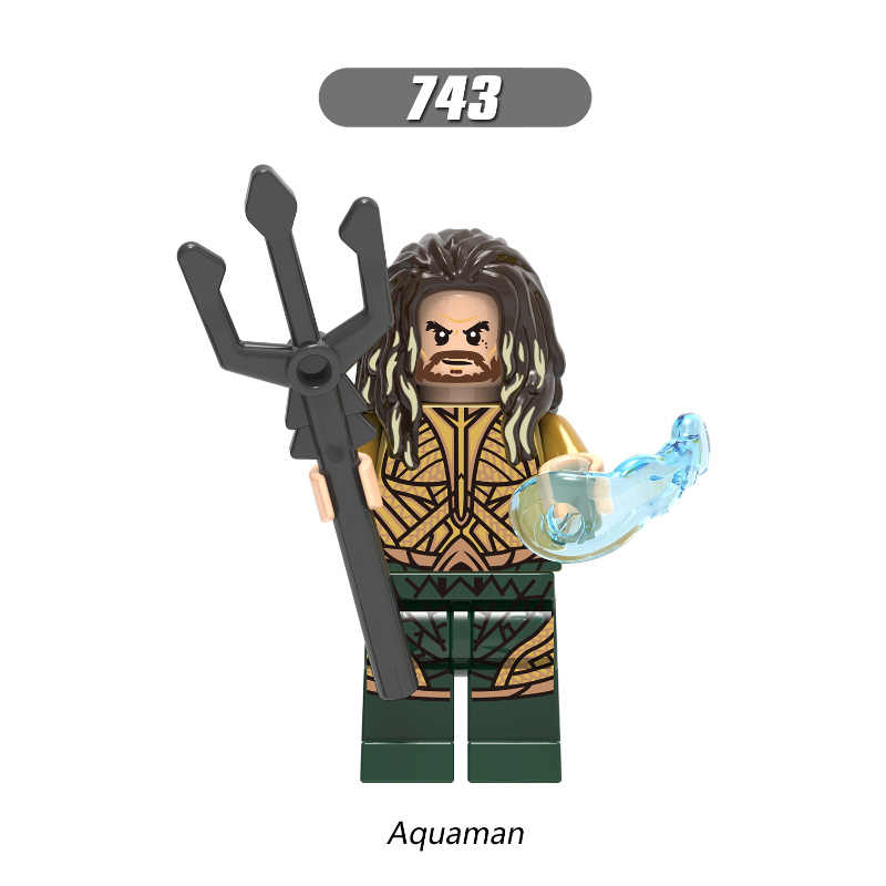 Singola Vendita Super Eroi Aquaman Reverse-Flash Parademon Lanterna Verde Booster Oro Blocchi di Costruzione Per Bambini Giocattoli del Regalo