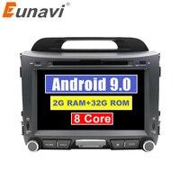 Android 9.0 Octa 8 core car dvd for KIA sportage 2011 2012 2013 2014 2015 headunit gps navigation 2 din car multimedia 2G+32G