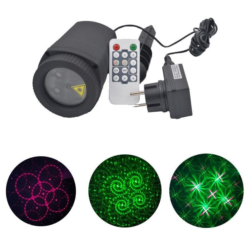 Luces del proyector láser de Navidad al aire libre a prueba de agua - Iluminación de vacaciones - foto 2