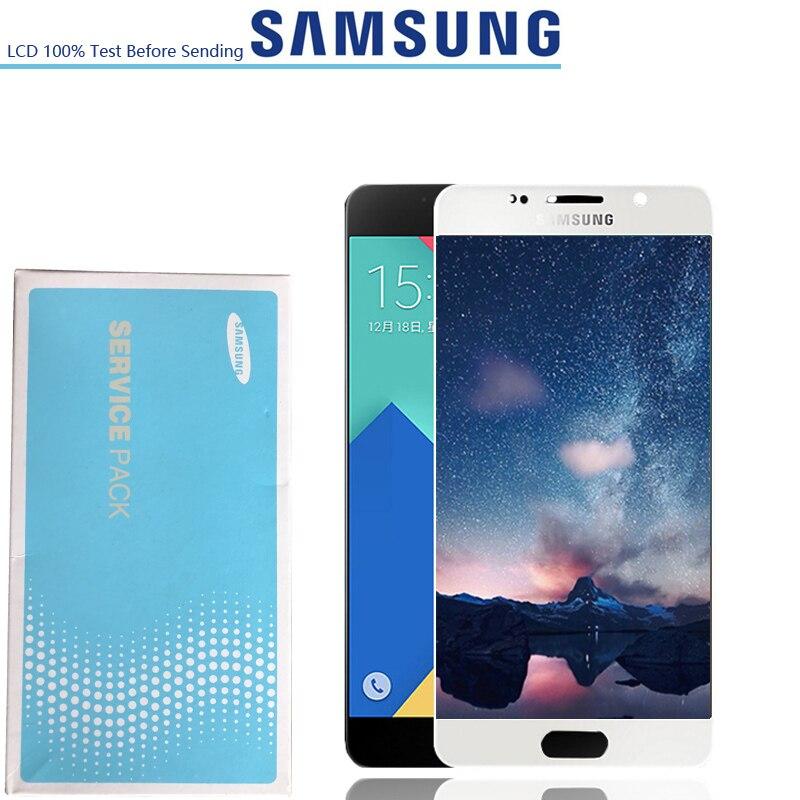 NEW ORIGINAL Display Super AMOLED para SAMSUNG Galaxy A5 2016 LCD A510 A510F A510M A510FD Tela de Toque Digitador Assembléia