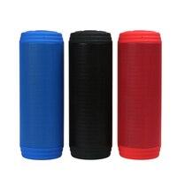 T3 Waterproof Wireless Bluetooth Speaker 2x5w Portable Outdoor Mini Column Box Loudspeaker Support Aux TF FM