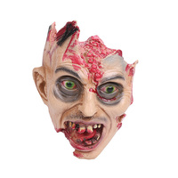 2017 Hot Sale Halloween Horror Vampire Head Horror Decor Cosplay Horror Halloween Vampire Head Decoration For