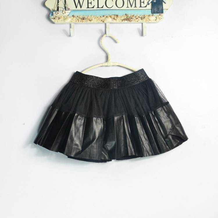 Baby Leather Skirt