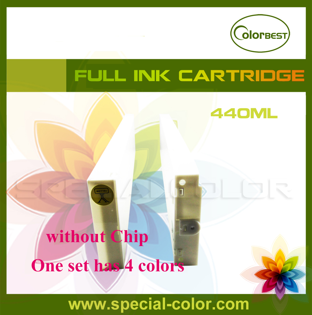 Mimaki JV33 ink cartridge without chip eco solvent 440ml 4 colors eco solvent ink cartridge without chip 440ml 4 colors for roland mimaki mutoh printer