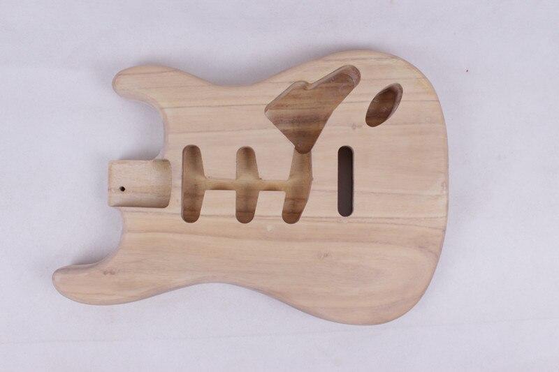 ONE Unfinished corps de la guitare électrique nouvelle haute qualité Paulownia bois
