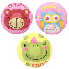 Kids Waterproof EVA Shower Cap Cute Cartoon Frog Bear Owl Printed Ruched Pleated Elastic Baby Bathing Head Hat Cover(China)