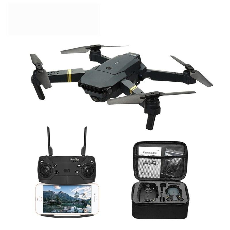 Eachine E58 WIFI FPV avec caméra grand angle HD mode de maintien élevé bras pliable drone quadricoptère RTF VS VISUO XS809HW JJRC H37 - 2