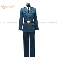 Kisstyle Fashion Hetalia: Axis Powers Lithuania Toris Uniform COS Clothing Cosplay Costume,Customized Accepted