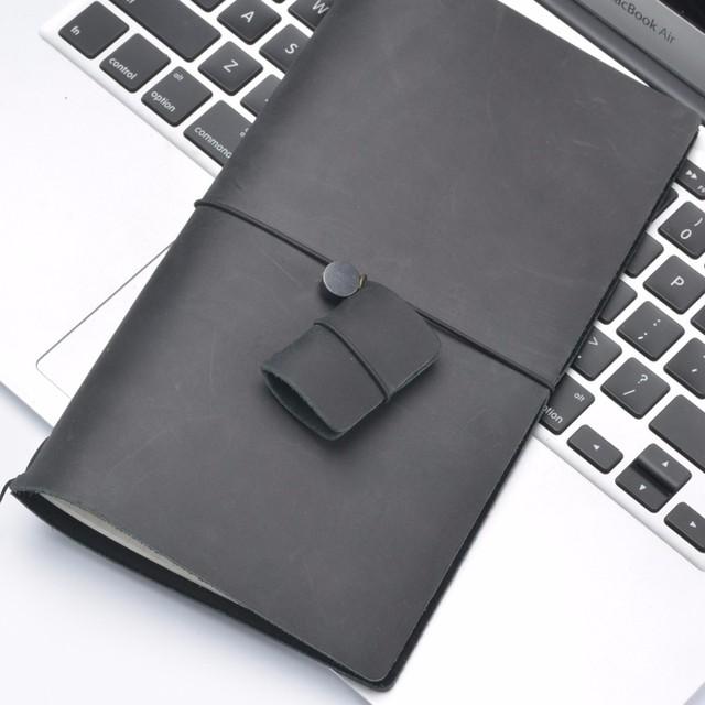 Colorful Retro Leather Mini Notebook