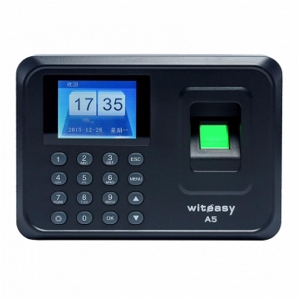 2.4 inch 600 User Fingerprint/Password Time Attendance A5 user password