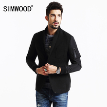 SIMWOOD 2016 New Winter Casual blazers Men  Fashion Coats Slim Fit Brand Clothiong XZ6111