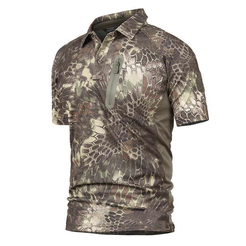 Camouflage Tactics Quick-drying Tops Tactics Airsofts Overalls for Men Working Special Forces Camouflage Men Military Uniform